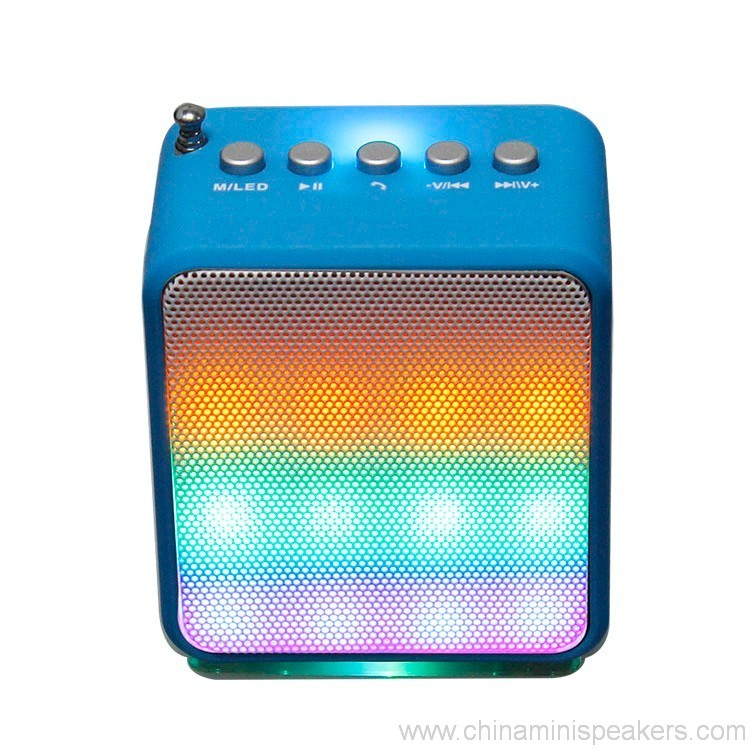 Portable Audio Subwoofer Bluetooth Speaker With LED Lighting Stereo Amplifier 3