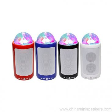 Portable & Rechargeable Bluetooth Wireless Party Speaker with Dancing LED Lights 2