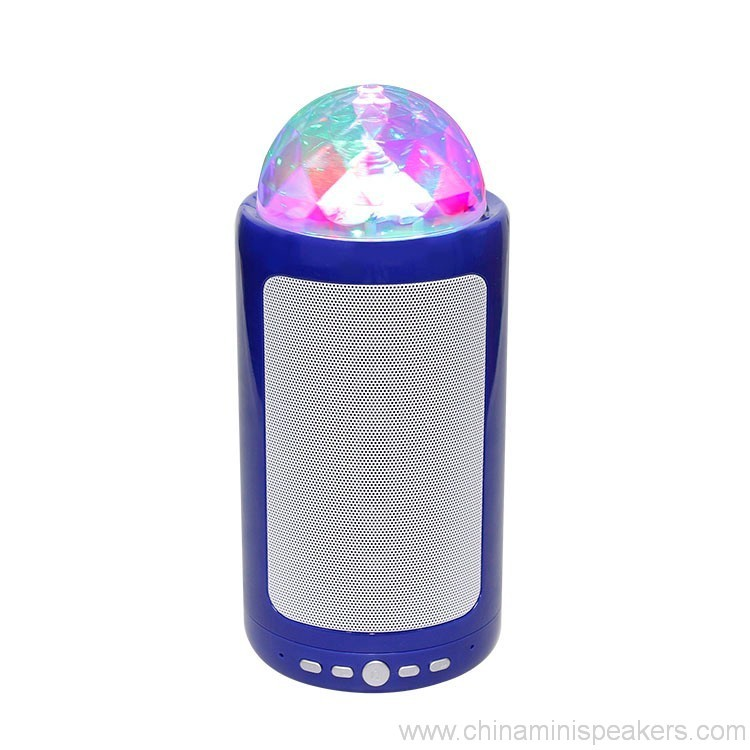 Portable & Rechargeable Bluetooth Wireless Party Speaker with Dancing LED Lights 4