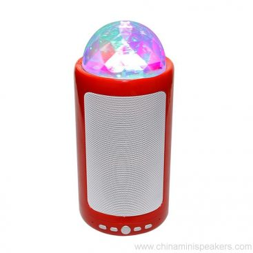 Portable & Rechargeable Bluetooth Wireless Party Speaker with Dancing LED Lights 6