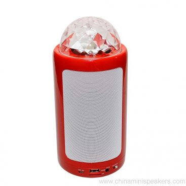 Portable & Rechargeable Bluetooth Wireless Party Speaker with Dancing LED Lights 8