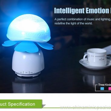Bluetooth Wireless Speakers Waterproof With Led Light 6